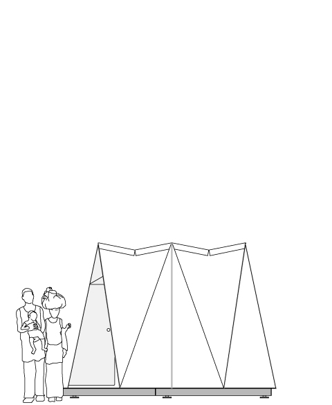 fold flat shelter legal informations
